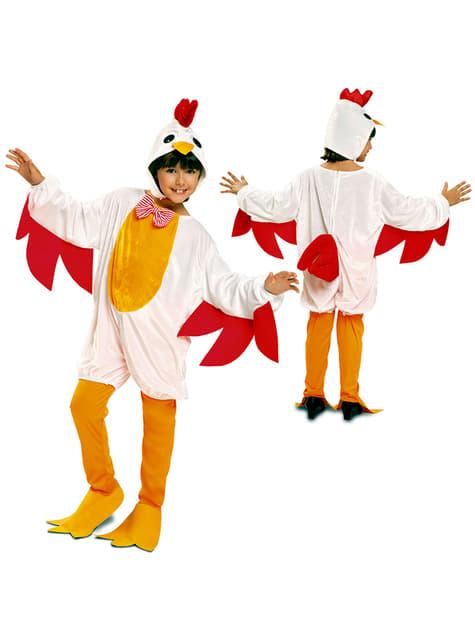 Disfraz de gallina ponedora para niña - original