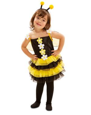 Fato de abelhinha de primavera para menina