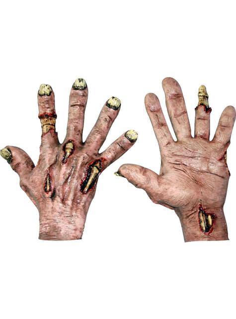 Dłonie Zombie Flesh Hands