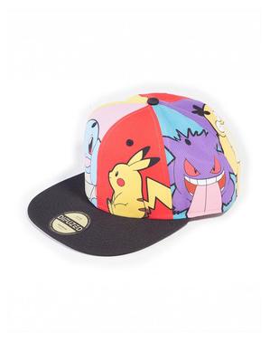 Casquette Pokémon avec personnages