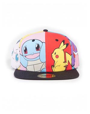 Șapcă Pokemon cu personaje