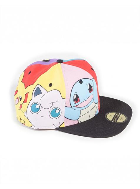 Gorra de Pokémon con personajes