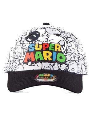 Super Mario Bros Mønstret Kasket - Nintendo