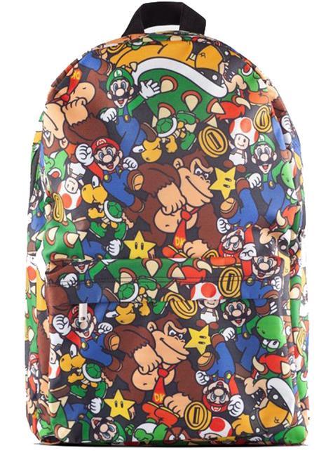 Mochila Super Mario Bros estampada - Nintendo