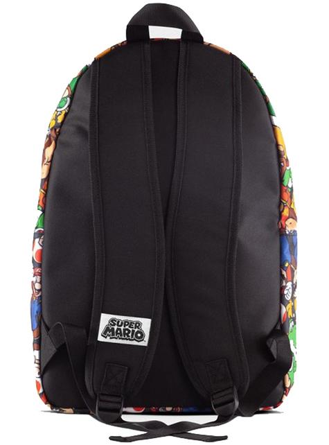 Super Mario Bros Patterned Backpack - Nintendo