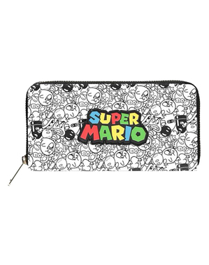 Super Mario Bros Patterned Wallet - Nintendo