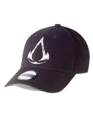 Černá kšiltovka Assassin's Creed Valhalla
