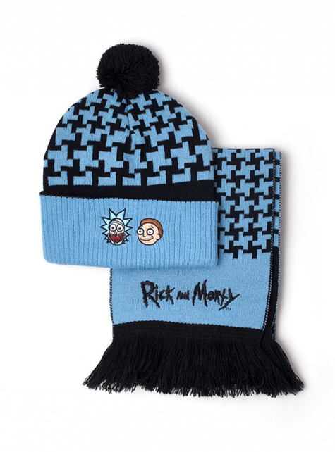 Set de gorro y bufanda Rick & Morty