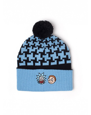 Rick & Morty Beanie and Scarf Set