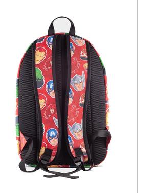 Červený batoh se vzorem Marvel