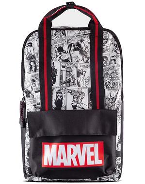 Marvel Comic rugtas met patroon