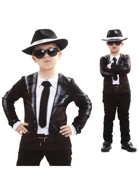 Camisola de artista de jazz para menino