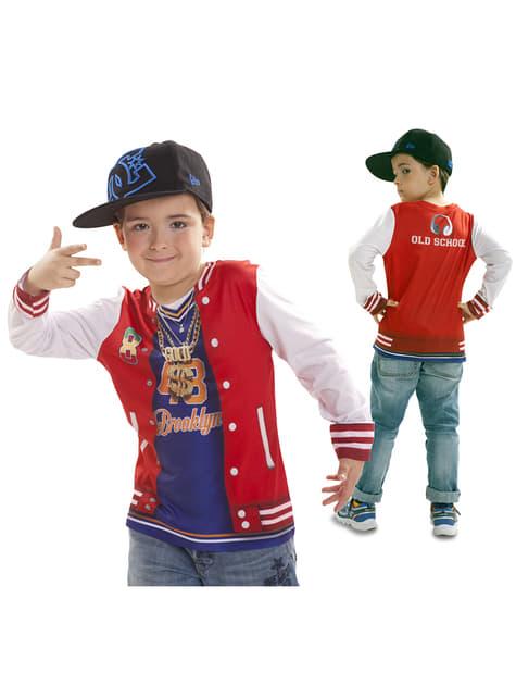 Camiseta de rapero con flow para niño - original