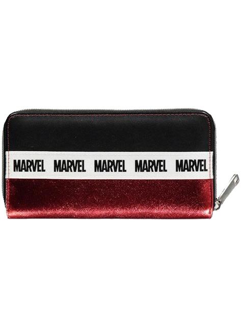 Cartera de Marvel roja para mujer