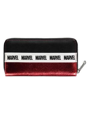 Carteira de Marvel vermelha para mulher