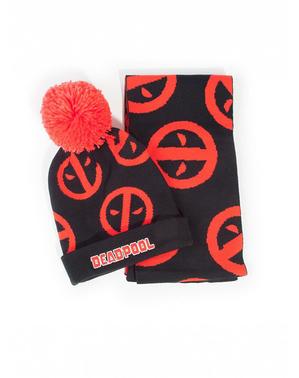 Pack bonnet et écharpe Deadpool
