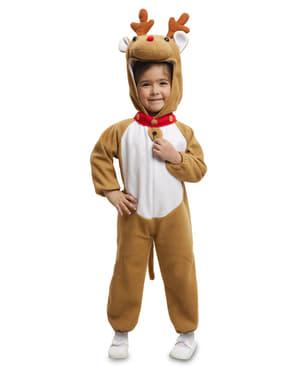 Verspieltes Rentier Kostüm für Kinder