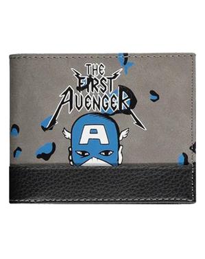 Carteira Capitão América - Marvel