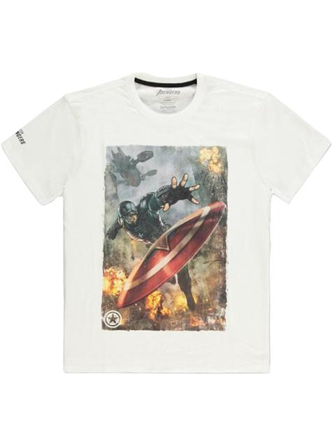 Camiseta Capitán América - Los Vengadores