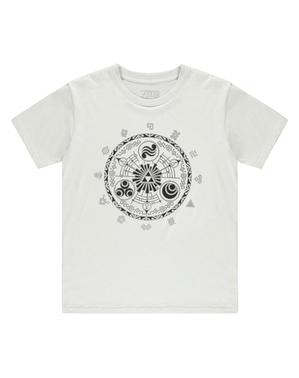 The Legend of Zelda szimbólumok pólóval