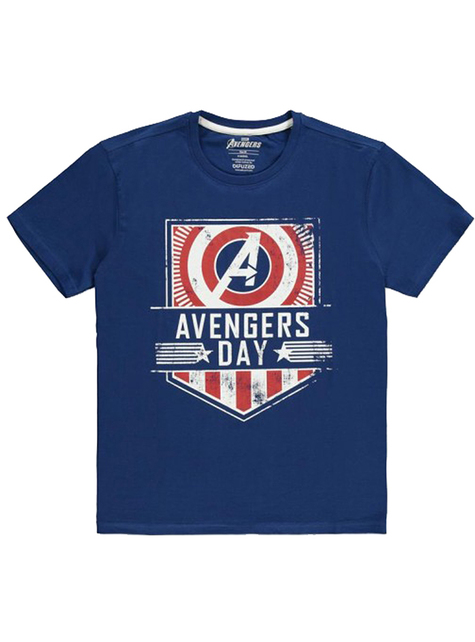 The Avengers T-Shirt in Blue - Marvel