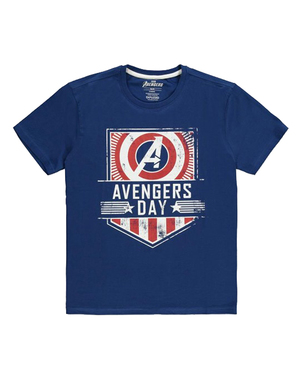 Месники футболки в Blue - Marvel