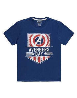 Мстители футболки в Blue - Marvel
