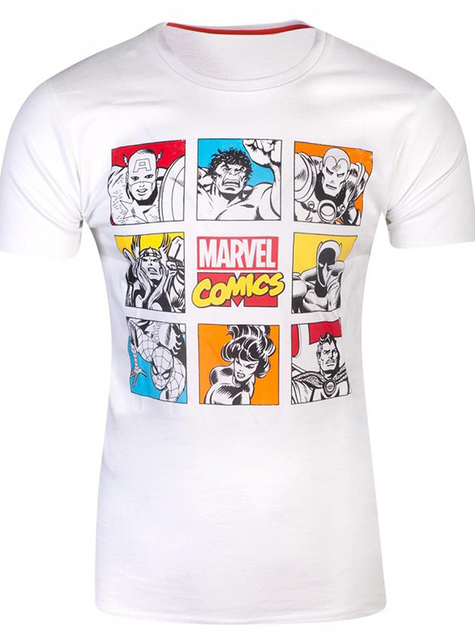 Camiseta de Marvel cómics