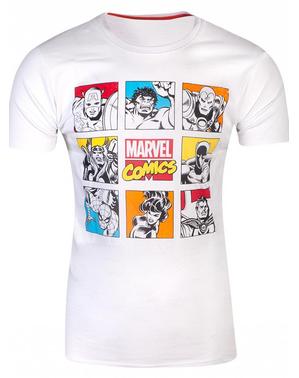マーベルコミックTシャツ