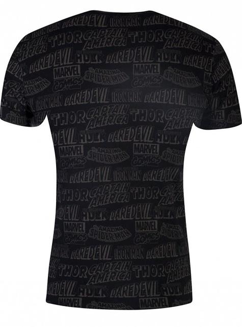 Marvel Comics T-Shirt in Black