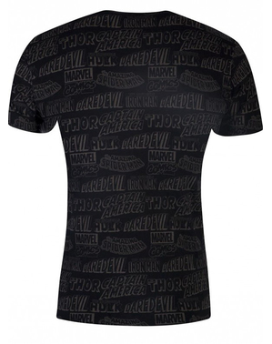 Marvel Comic T-Shirt schwarz