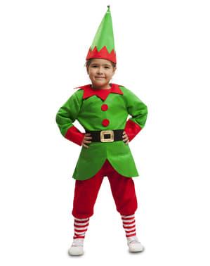 תלבושות Elf העוזר של ילדים