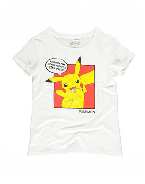 T-shirt de Pikachu para mulher - Pokémon