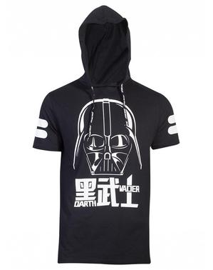 Darth Vader T-shirt med huva - Star Wars