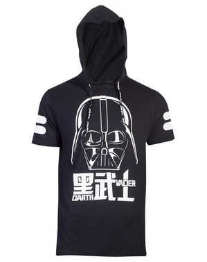T-shirt Dark Vador à capuche- Star Wars