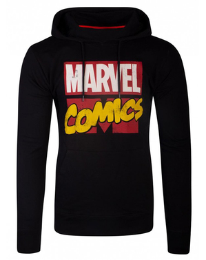 Marvel Comics mikina v čiernej farbe