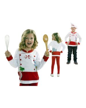 Shirt kookkunst voor kinderen