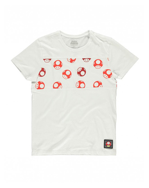 Super Mario Bros Toad T-Shirt - Nintendo