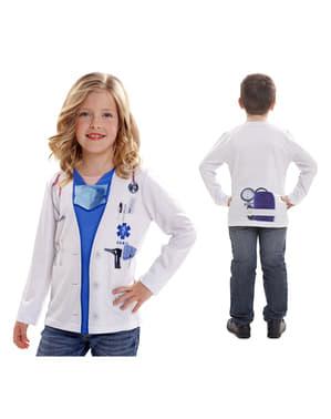Camiseta de doctor infantil