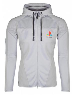 Felpa PlayStation bianca