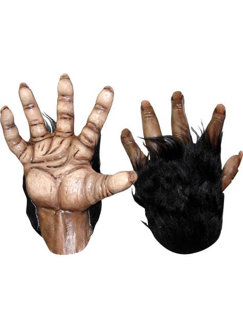 Mani da uomo lupo