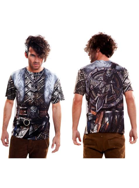 Camiseta de vikingo furioso para hombre