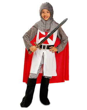 Boy's Warrior Templar kostum