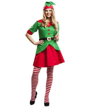 Disfraz de elfa simpática para mujer
