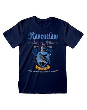 T-shirt Ravenclaw escudo - Harry Potter
