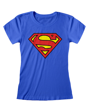 Maglietta Superman da donna - DC Comics