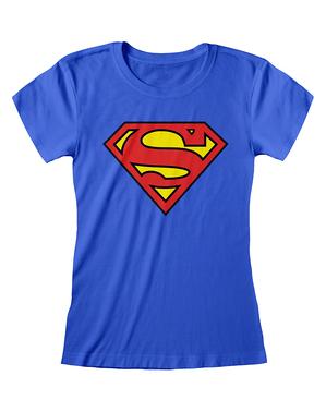 Superman T-shirt til Kvinder - DC Comics