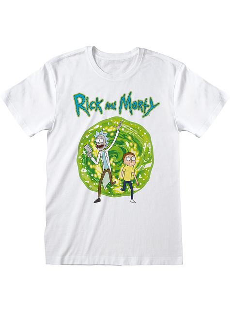 T-shirt Rick & Morty blanc