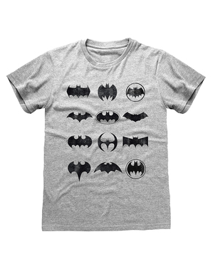 Camiseta Batman logos - DC Comics