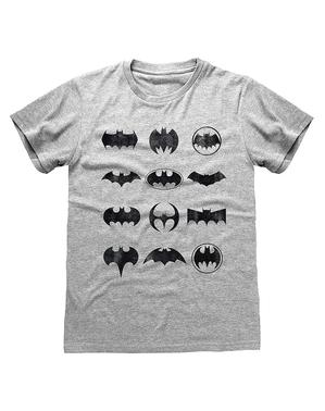 Camiseta Batman logos - DC Comics